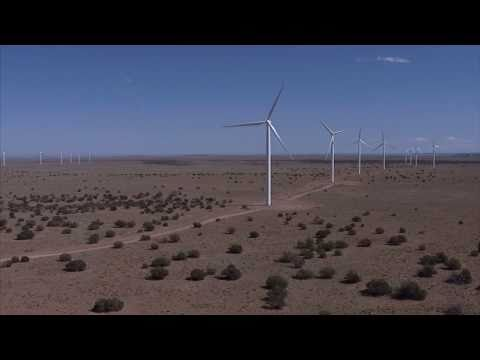 Expansion at the Dry Lake Wind Power Project underway