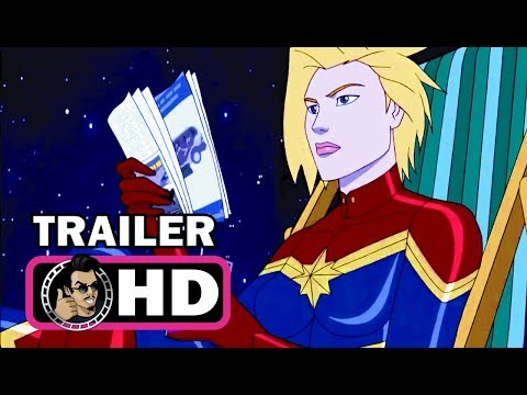Marvel's AVENGERS: SECRET WARS Official Trailer #2 (HD) Disney XD Black Panther Animated Series