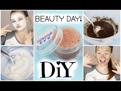diy-beauty-day-|-lipscrub,-facepeeling-&-facemask