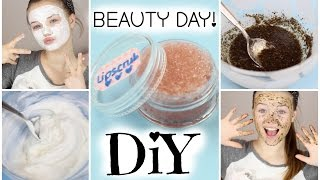 DIY BEAUTY DAY | Lipscrub, Facepeeling & Facemask