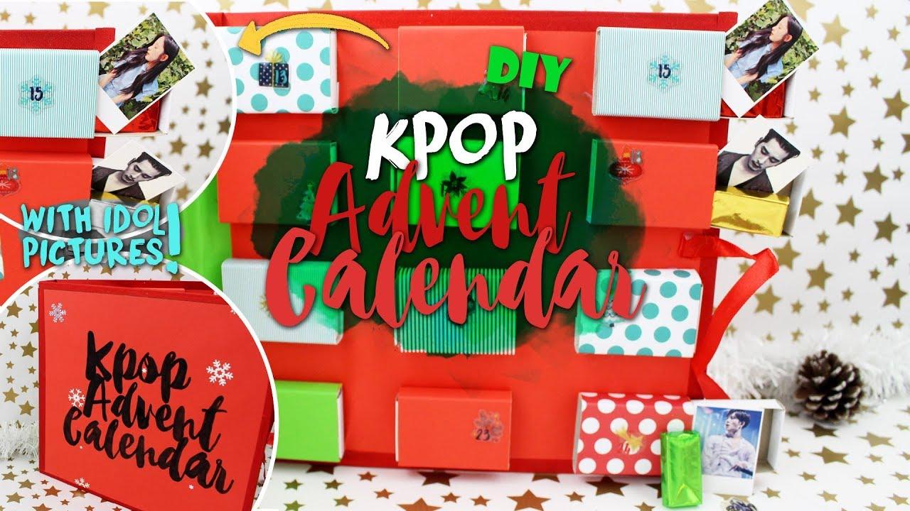 Diy Kpop Calendar : Diy kpop advent calendar k freakenglish exo bts