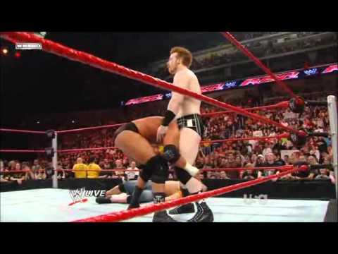 Sheamus-Brogue Kick/High Cross