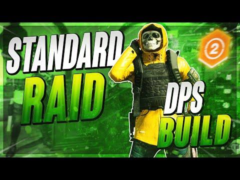 60 CHC & 242 CHD The Division 2  DPS Raid Build (Dark Hours Raid)