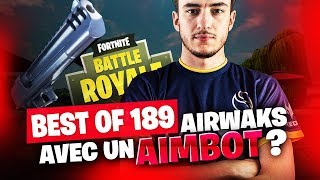 BEST OF SOLARY FORTNITE #189 ► AIRWAKS AVEC UN AIMBOT ?