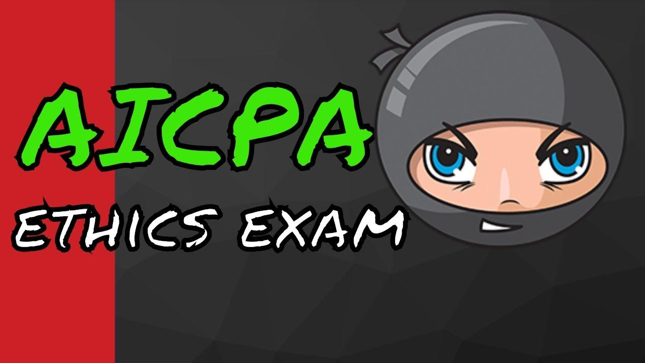 AICPA Ethics Exam Course - CPA Exam Survival #47 - YouTube