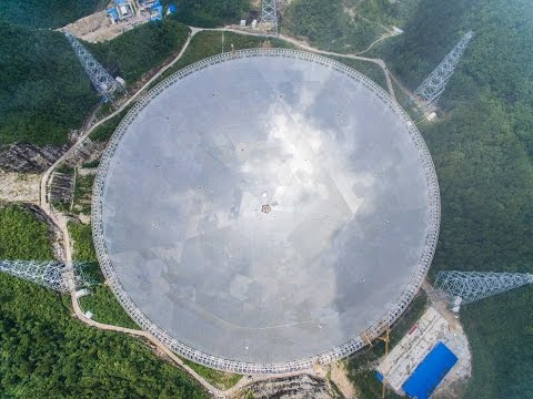 Will world's largest radio telescope find other civilizations in universe?