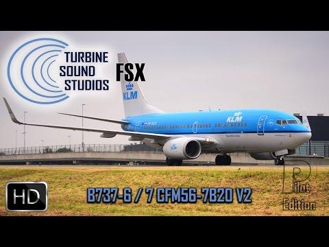 TSS Boeing 737 CFM56-7B20 FSX/Prepar3D