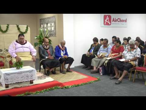 Grand Opening of AirChord Televentures Tonga Limited's ISP : OceanCel by HSH Kalaniuvalu-Fotofili