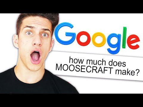 GOOGLING MYSELF CHALLENGE! (MOOSECRAFT)