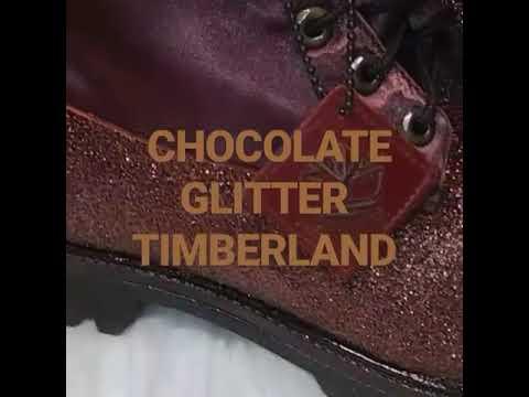 Chocolate Timberland boots