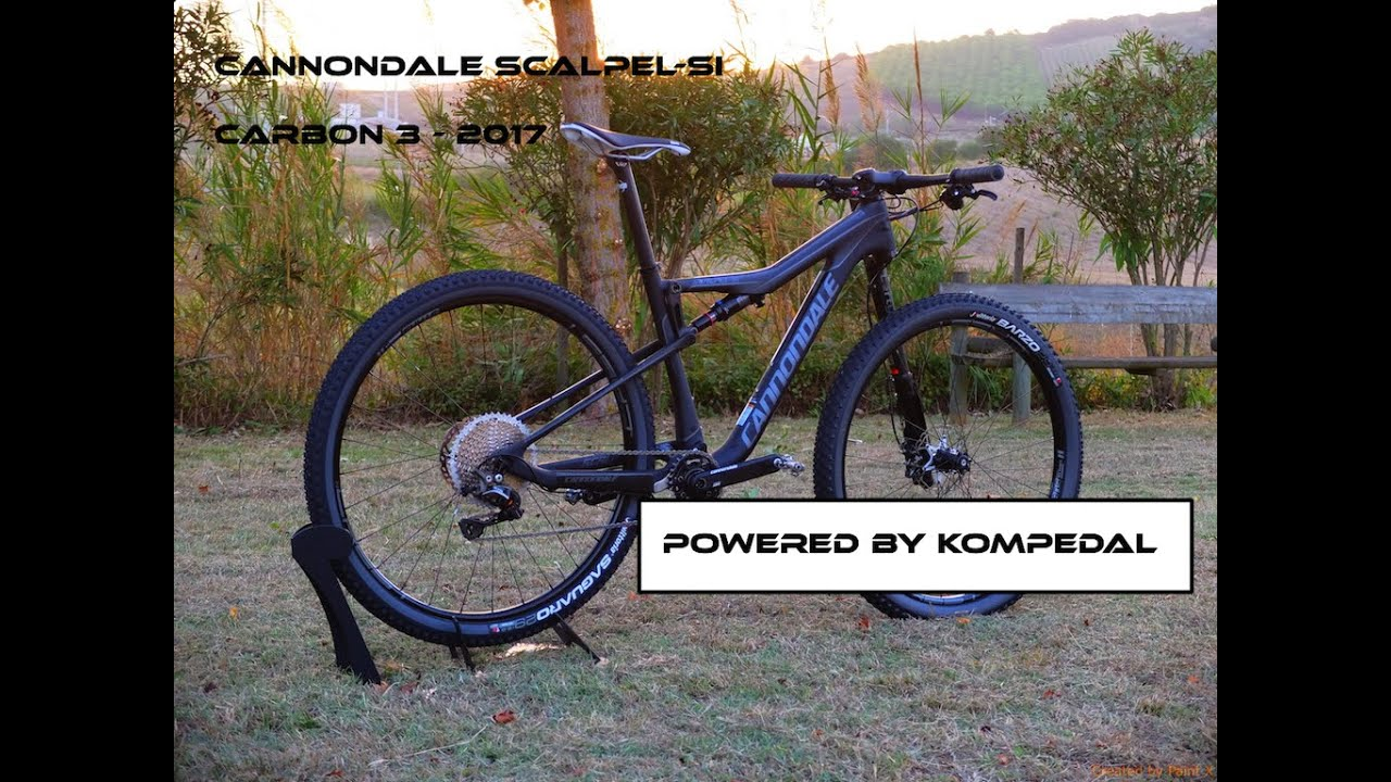 23a123d24af Cannondale Scalpel SI Carbon 3 - 2017 - Powered by Kompedal - YouTube