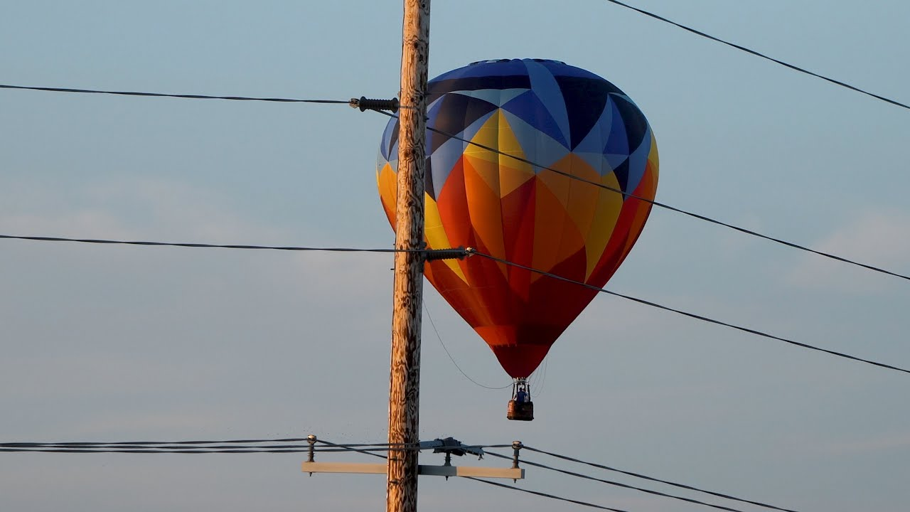 Hot Air Balloon Fest 4K (Lincoln, IL)