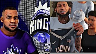 nba 2k16 mycareer s3 brand new fire cam intro   lebron james new team is cheese