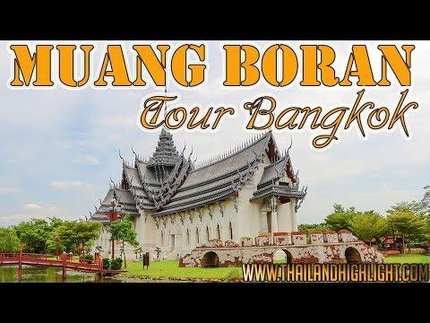 Muang Boran Ancient City Ancient Siam Bangkok Sightseeing Tours