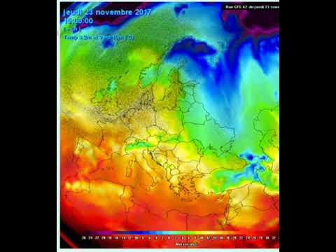 World Weather 23 November 2017