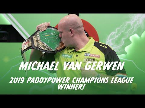 WHAT A FINAL! MICHAEL VAN GERWEN WINS THE 2019 PADDY POWER CHAMPIONS LEAGUE