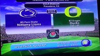 2008 Rose Bowl Game - NCAA Football 08
