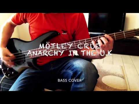 Mötley Crüe - Anarchy in the U.K.[bass cover] mp3
