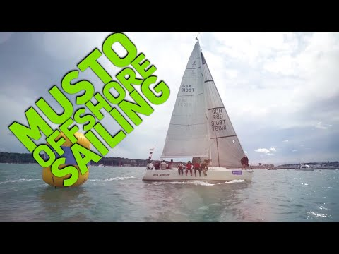 Offshore Sailing With Musto clothing - Cowes Week