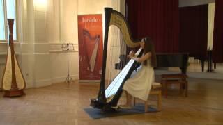 Jesus Guridi - Viejo Zortzico - Nadja Dornik, harp