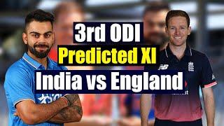 India vs England 3rd ODI: Virat kohli's Predicted Playing XI against England|वनइंडिया हिंदी