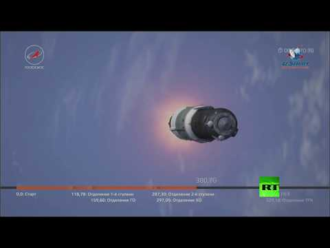 إطلاق شاحنة روسية إلى المحطة الفضائية الدولية من -بايكونور-  - 11:21-2017 / 10 / 14