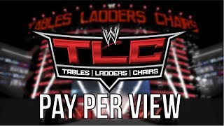 """WWE 2k14 Universe Mode - #35 """"Tables, Ladders & Chairs PPV"""""""