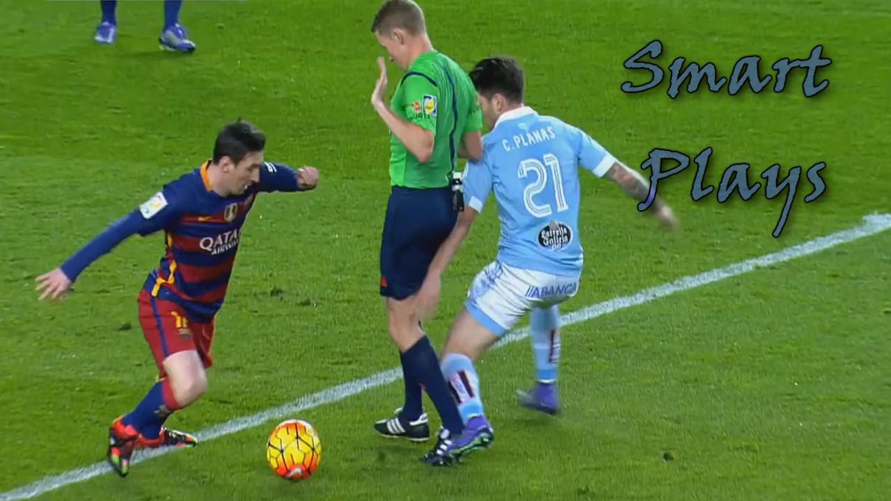 Lionel Messi  E  B Top  Smart Cheeky Plays Hd