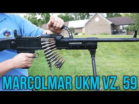 Marcolmar  UKM Vz. 59 Semi-Auto Belt-Fed (Czech Uk.59)