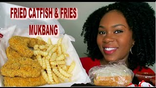 Catfish Steaks French Fries Mukbang The Mo Show