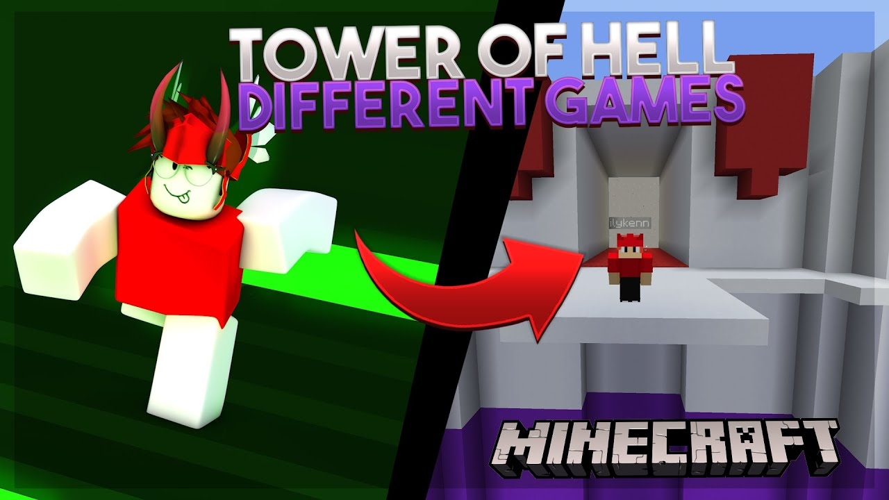 TOWER of HELL but from DIFFERENT GAMES