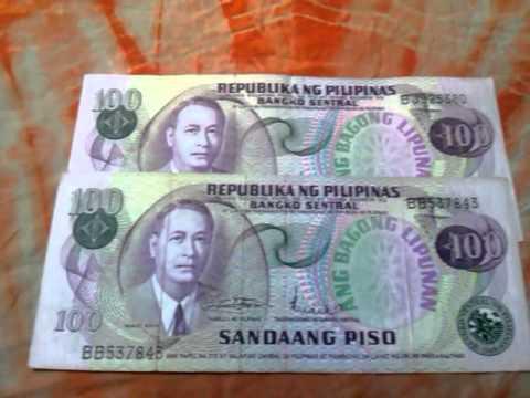 My philippine money collection 2015