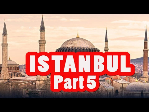 AMAZING ISTANBUL TRAVEL GUIDE VLOG #5 THE BLUE MOSQUE HAGIA SOPHIA and BAKLAVA