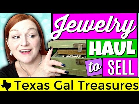 Sorting Jewelry Haul to Sell Online – Sell in a Lot, Solo, or Junk It?