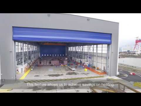 CHAMPION DOOR large shipyard doors