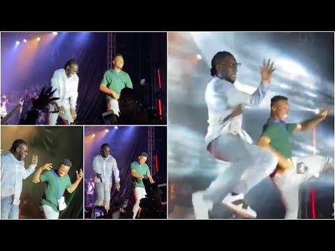 Burna Boy & Poco Lee Scatter The Stage With INCREDIBLE Performance At RED TV Rave