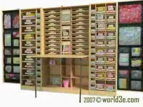 the workbox from the original scrapbox scrappers paradise. Black Bedroom Furniture Sets. Home Design Ideas