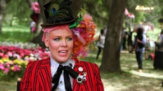 Alice Through the Looking Glass: P!nk Behind the Scenes Song Interview