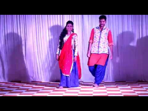 Sibling dance (Kon halawe limbde) by NISHI GOSRANI AND BHAVYA GOSRANI