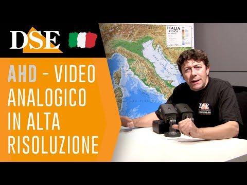 DSE tutorial - Tecnologia AHD e principali altre tecnologie per TVCC  - Versione integrale (30 min.)