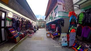 Walking in Namche Bazaar, Nepal | GoPro H4 Silver + Zhiyun Rider-M Gimbal