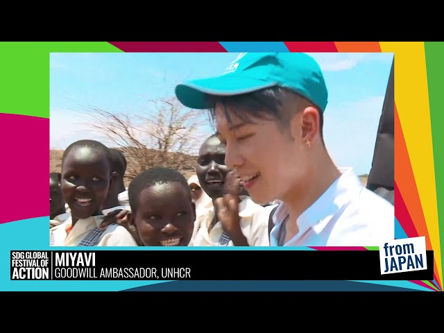 Lightning Talk: Talk By UNHCR Goodwill Ambassador Miyavi | UNHCR親善大使 MIYAVIによるトーク