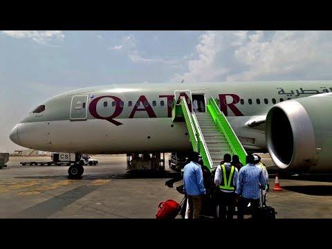 QATAR Aiways 787-8 DreamLiner Jeddah To Doha | القطرية من جدة إلى الدوحة
