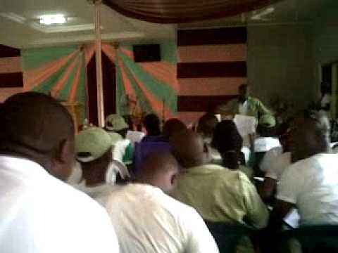 Ekiti state Band CDS_choir rehearsal