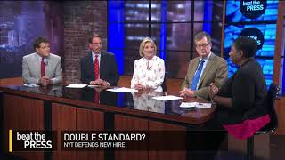 Beat the Press: Double Standard?