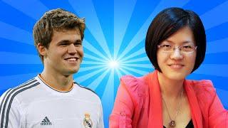 Magnus Carlsen vs Hou Yifan - World Chess Champion vs Women