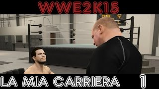 WWE 2K15 My Career Gameplay PC ITA #1 Benvenuti nella WWE