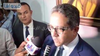 بالفيديو: العناني:  توقع مذكرة تفاهم بين متحف الفن الإسلامي ومتحف اللوفر