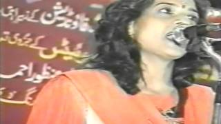 Lata Haya reciting her Ghazal/Nazm at 1st All India Mushaira