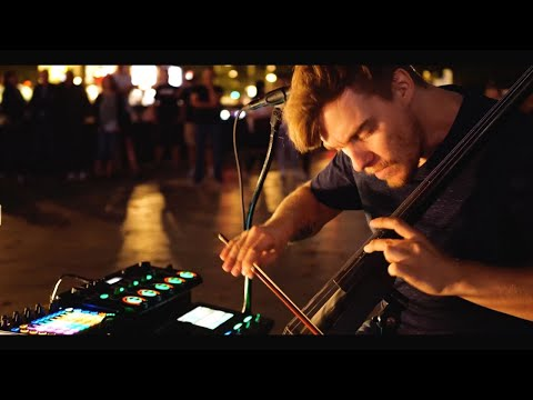Boss RC-505 Live Looping - 4K GH5s Night Shoot in Berlin - Reinhardt Buhr